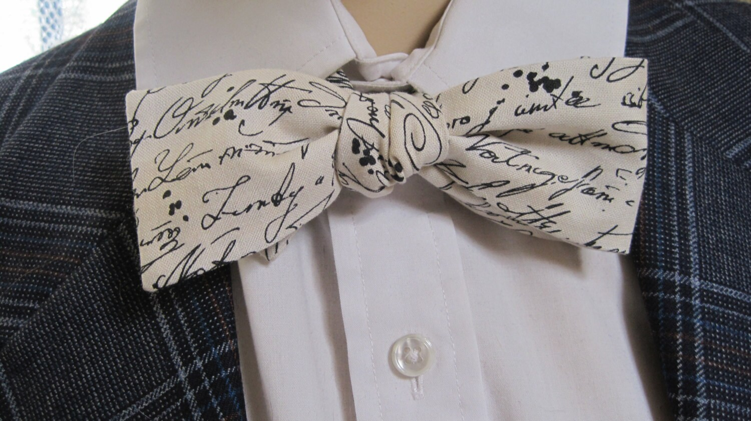 mr letters to juliet bow tie