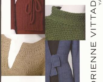 Adrienne Vittadini Knitting Pattern Books : Vittadini yarn Etsy