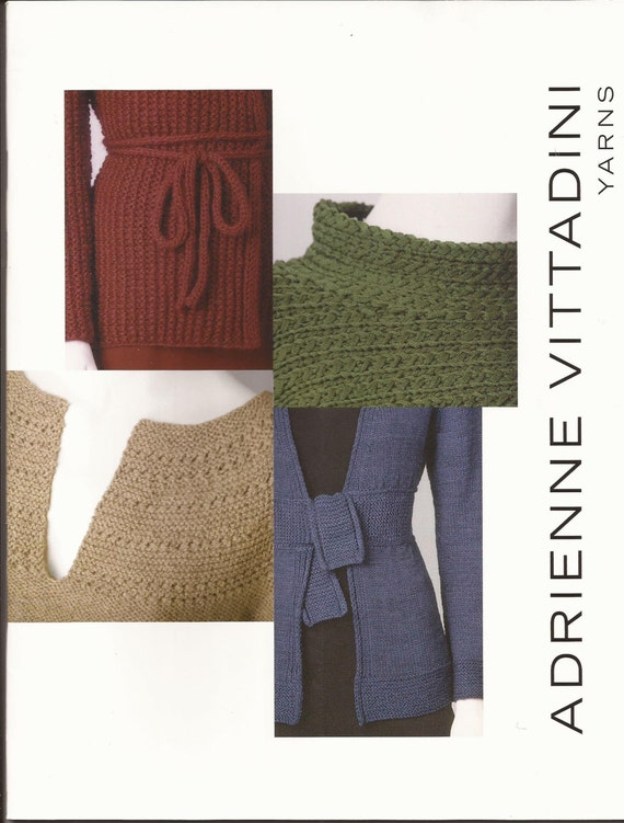 Adrienne Vittadini Knitting Pattern Books : Adrienne Vittadini Knitting Pattern Book vol 17 / 17 by brokemarys