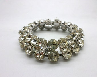 Beautiful Vintage EISENBERG Rhinestone Bracelet