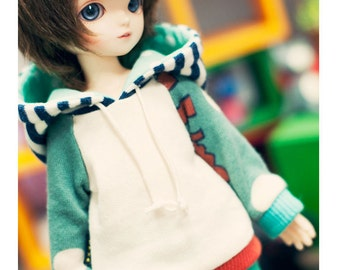 YOsd coloration hooded-T -Mint