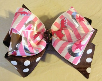 Running Horses Boutique Hair Bow