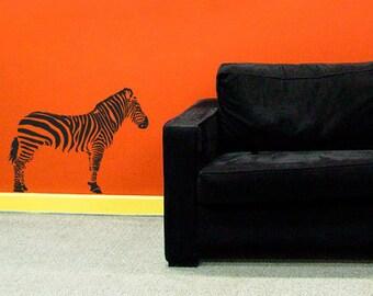 Zebra Wall Art Sticker