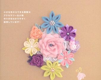 Master Tsugumi Sato Collection 01 - Easy Kanzashi - Japanese craft book