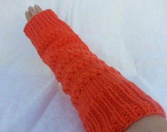 Hand Knit Leg ankle Arm Wrist Warmers for Teen or Adult