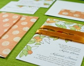 Orange Grove - Printable Wedding Invitation Suite