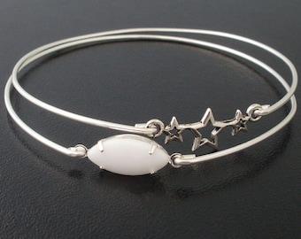 Shooting Star Bracelet Set, Space Jewelry, Space Bracelet, Starlight Astronomy Bracelet, Astronomy Jewelry, Star Light Shooting Star Jewelry