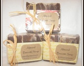 Almond Biscotti All Natural Handmade Soap---HUGE BAR!