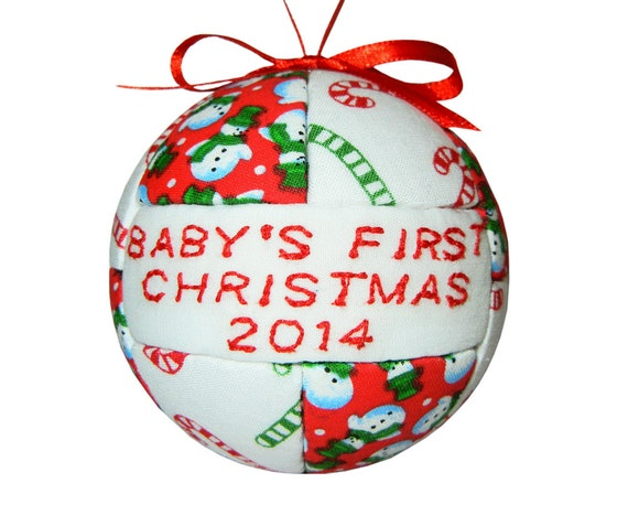 Homemade Christmas Ornaments For Babies : Baby s first christmas handmade by craftcrazy u