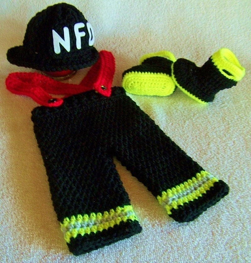 Firefighter baby Baby Firefighter by babypropsbyconnie on Etsy