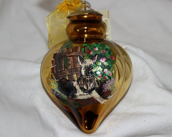 Hand-Painted Ornament -Shepard Item 1020C