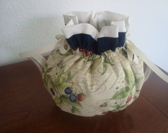 Strawberry and Blueberry Tea Pot Cozy