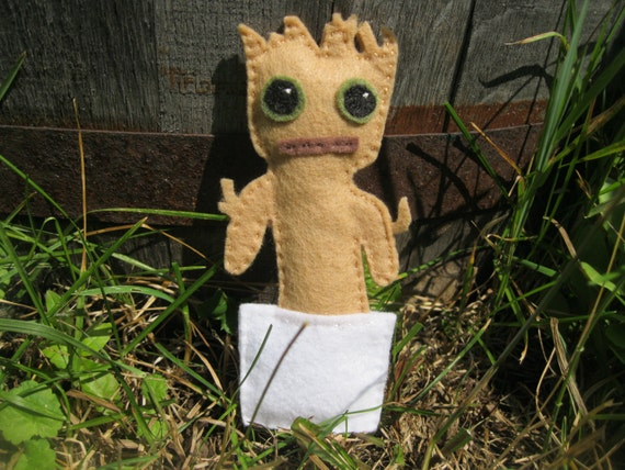 Baby Groot catnip toy