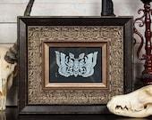 Death's Head Hawkmoth - Block Print