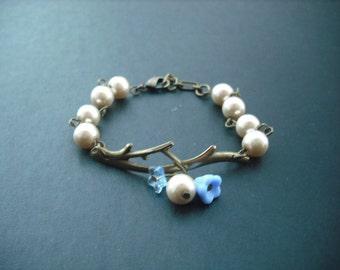 bare branch bronze bracelet