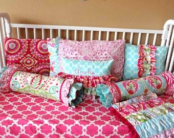 Pillows In Kumari Garden Fabric