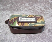 Retro Longaberger, mirrored sip up lipstick case