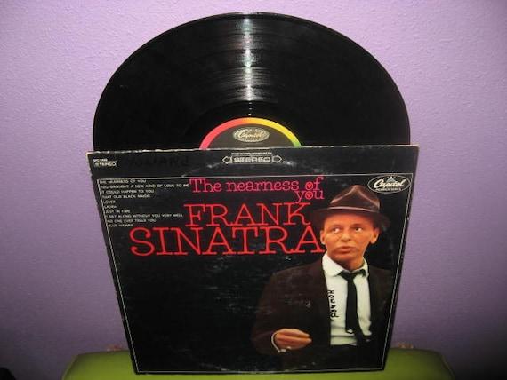 Vinyl Record Album Frank Sinatra - The Nearness of You LP 1967 Crooner Classics Rat Pack  Vocals