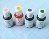 Gel Paste Food Coloring - PASTEL Spring Mix for Frosting, Icing, Cookies, Cupcakes, Fondant - Yellow, Pink, Green, Blue