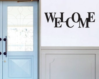 Welcome - Entryway Wall Decals