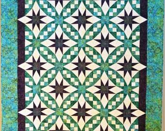Galaxy Quilt Pattern