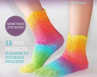 Knitting Board Sock Loom Patterns : KB All in One Loom 18 Knitting Board with Round and Sock