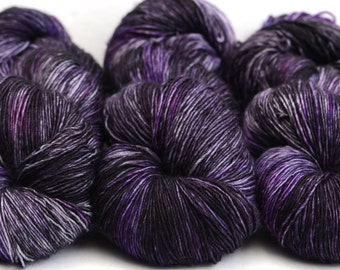 Hand dyed Sock Yarn - superwash merino