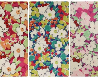 3 pcs of Liberty Hello kitty fabrics - Kakurenbo - 2013 - Best sellers