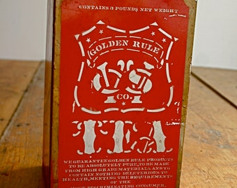 Antique CWS 3 Pound Tea Canister