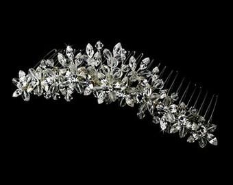 Sparkling Swarovski Crystals & Rhinestone Headpiece