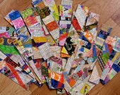 Reserved for Colleen!  A big batch of bitchen bookmarks!  With extra thread and stiffness!!