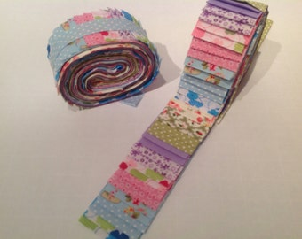 40 piece Jelly Roll Fabric