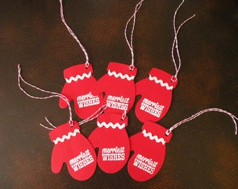 Mitten Small Gift Tag