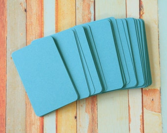 50pc SKY BLUE Vintage Series Business Card Blanks