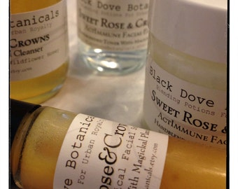 Sweet Rose & Crowns Holistic Skin Care Set