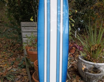 Four foot surfboard wall hanging, surfboard wall art, surf decor