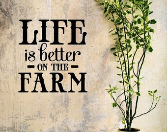Farm Quotes Awesome The Best Memories Are Made On The Farm Wall Quotes Words