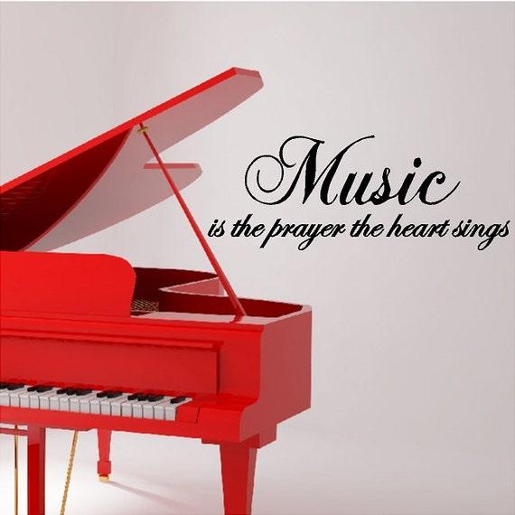 Musik ist das gebet der herzen singt musik wand zitate worte - Zitate singen ...