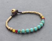 Turquoise Petite Oriental Bracelet