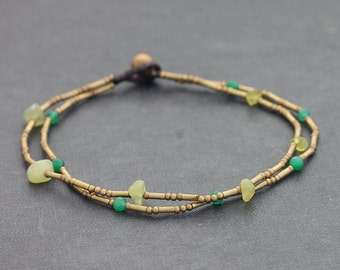 Green Fresh Citrus Clean Anklet