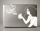 Eve and the Snake Decal Apple Macbook