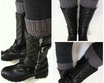 Boot Cuff Crochet Pattern - Easy Peasy Boot Cuffs Pattern No.909 Digital Download PDF Leg warmer Boot Topper