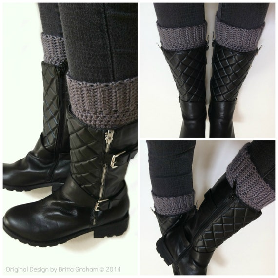 Crochet Boot Cuff Easy Pattern : Boot Cuff Crochet Pattern Easy Peasy Boot Cuffs Pattern