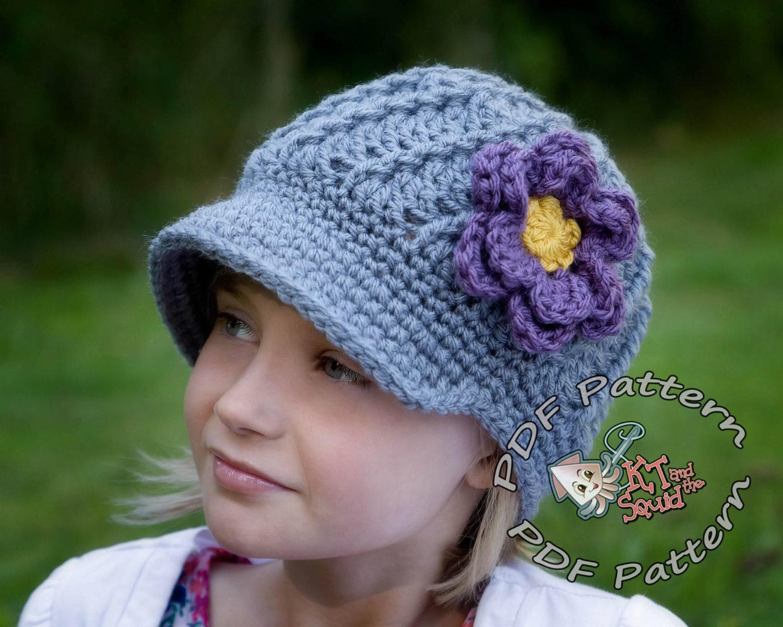 Crochet newsboy hat pattern newsboy hat pattern crochet zoom bankloansurffo Images