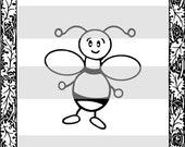 Firefly - Digital Stamp