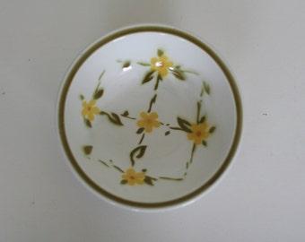 vintage mid century bowl ceramic guild esperanto trala pattern