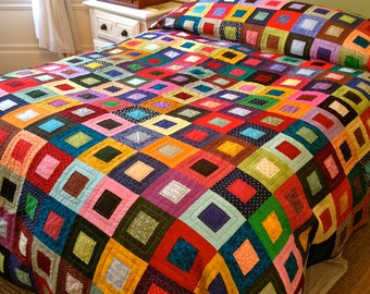 Somewhere Over the Rainbow Quilt