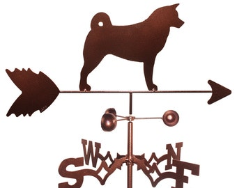 Hand Made Akita Dog Weathervane NEW