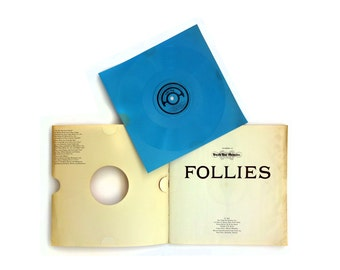 """The Push Pin Graphic, Issue 46 (1964). """"Follies"""" with Tiny Tim recording by Milton Glaser"""