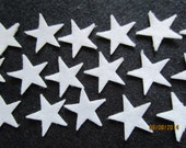 50-Mini Iron On Stars-Fabric Appliques-1 Inch Felt Iron On Stars-Quilting Appliques-Hair Accessories Decorations-Costume Embellishments